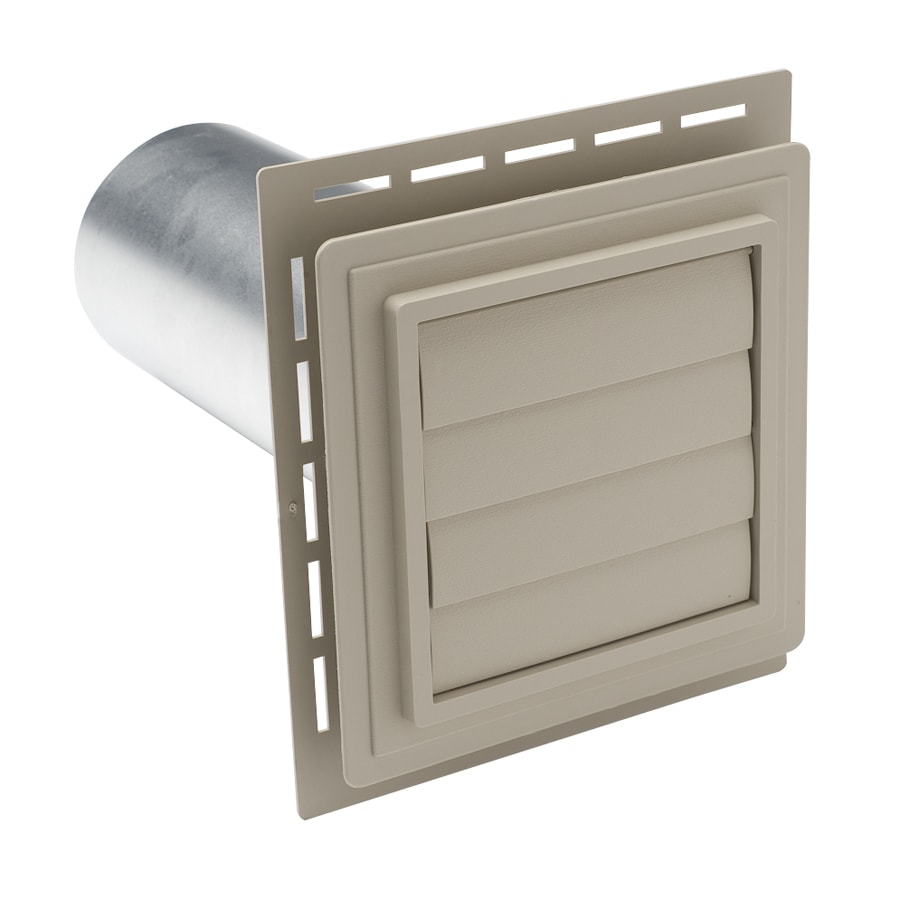 4-in Dia Plastic R2 Exhaust Dryer Vent Hood