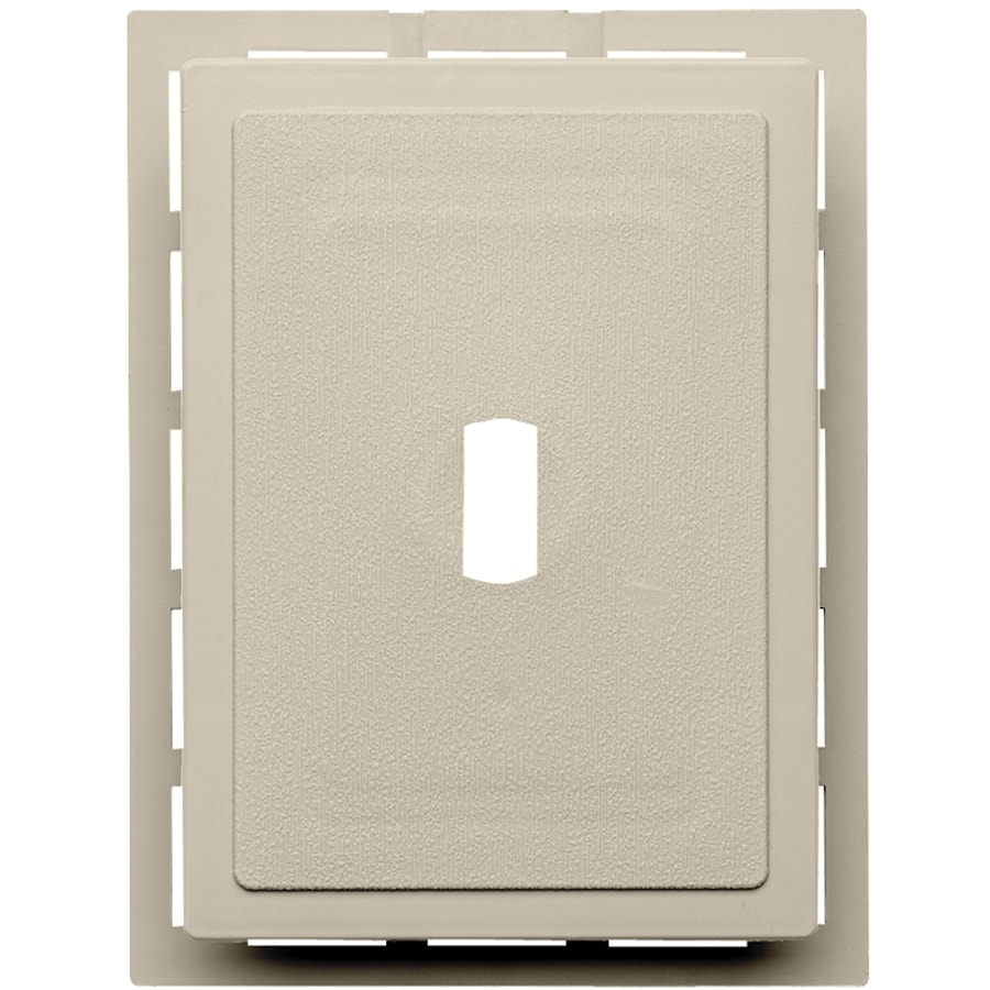6-in x 0.875-in Tan Vinyl Universal Mounting Block