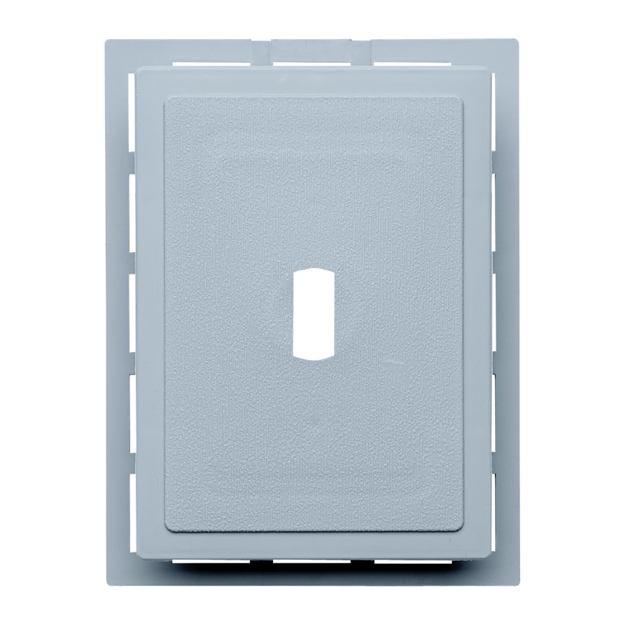 6-in x 0.875-in Blue Vinyl Universal Mounting Block
