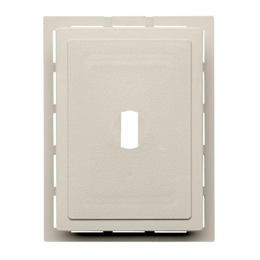 6-in x 0.875-in Almond Vinyl Universal Mounting Block