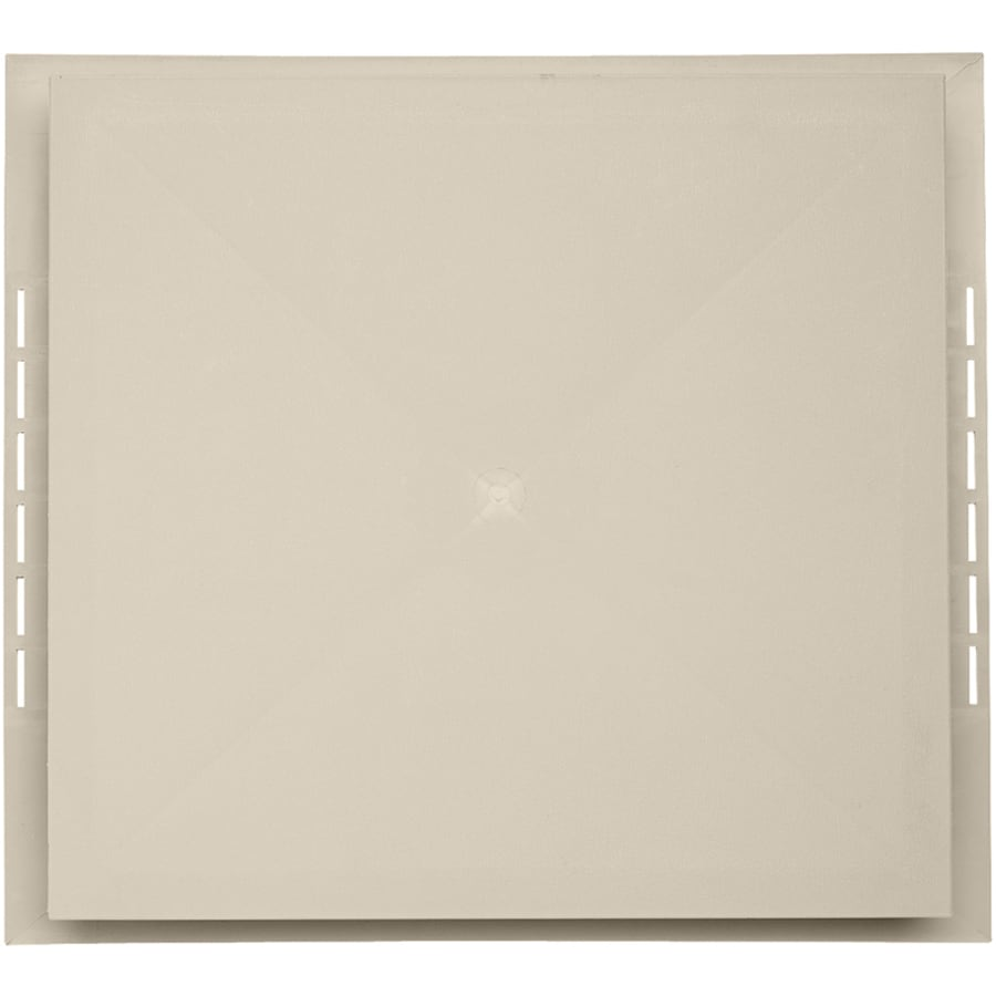 18.5-in x 16.75-in Tan Vinyl Universal Mounting Block