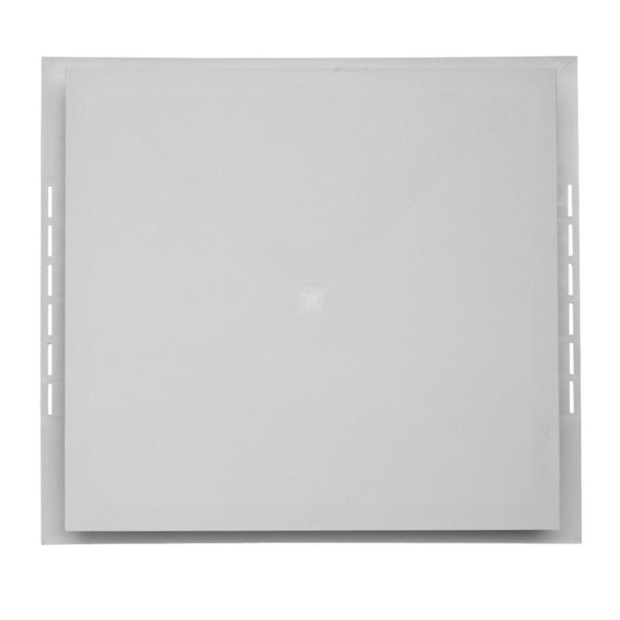 18.5-in x 16.75-in Gray Vinyl Universal Mounting Block