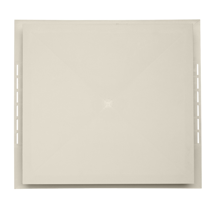 18.5-in x 16.75-in Almond Vinyl Universal Mounting Block