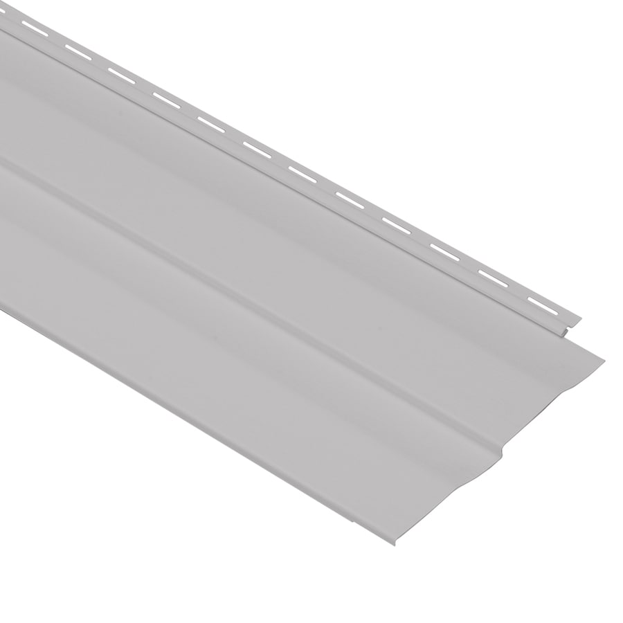 Georgia-Pacific Shadow Ridge Vinyl Siding Panel Double 5 Dutch Lap Flint 10-in x 144-in