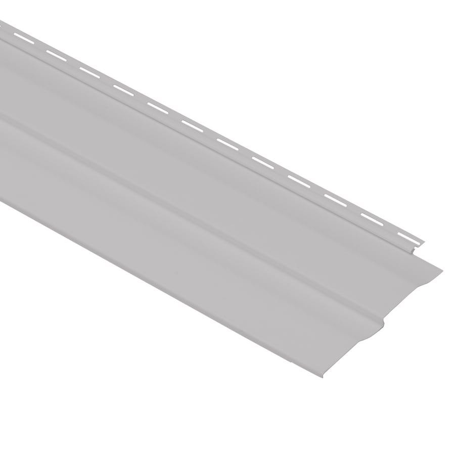 Georgia-Pacific Vision Pro Vinyl Siding Panel Double 4 Dutch Lap Flint 8-in x 150-in