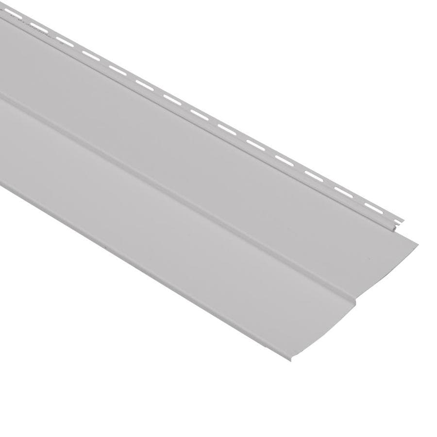 Georgia-Pacific Vision Pro Vinyl Siding Panel Double 5 Traditional Flint 10-in x 144-in