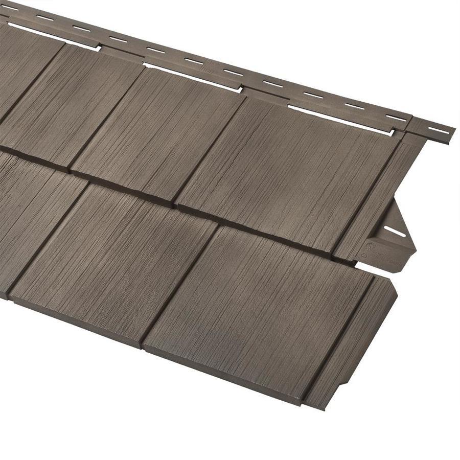 Home Exterior Design Tool Lowes Siding Visualizer: Shop Georgia-Pacific Cedar Spectrum Vinyl Siding Panel