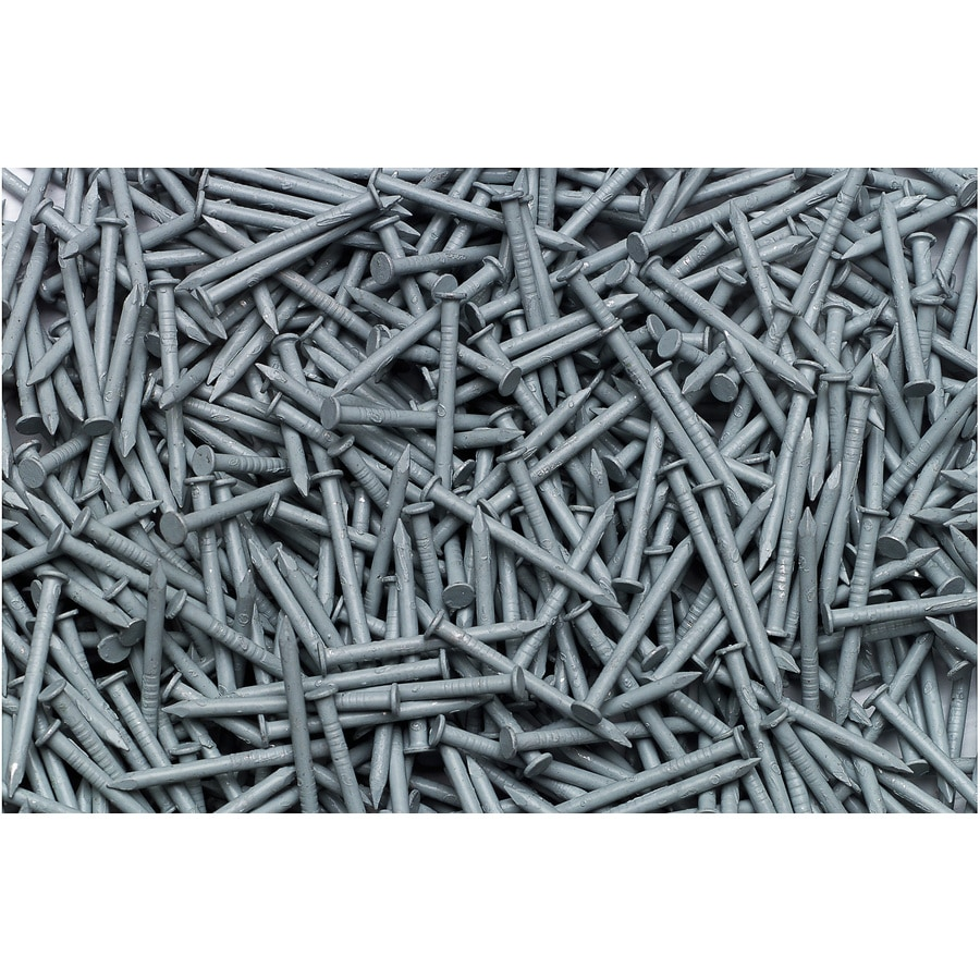 Georgia-Pacific 1-lb 15-Gauge 1.25-in Blue Vinyl Siding Nails