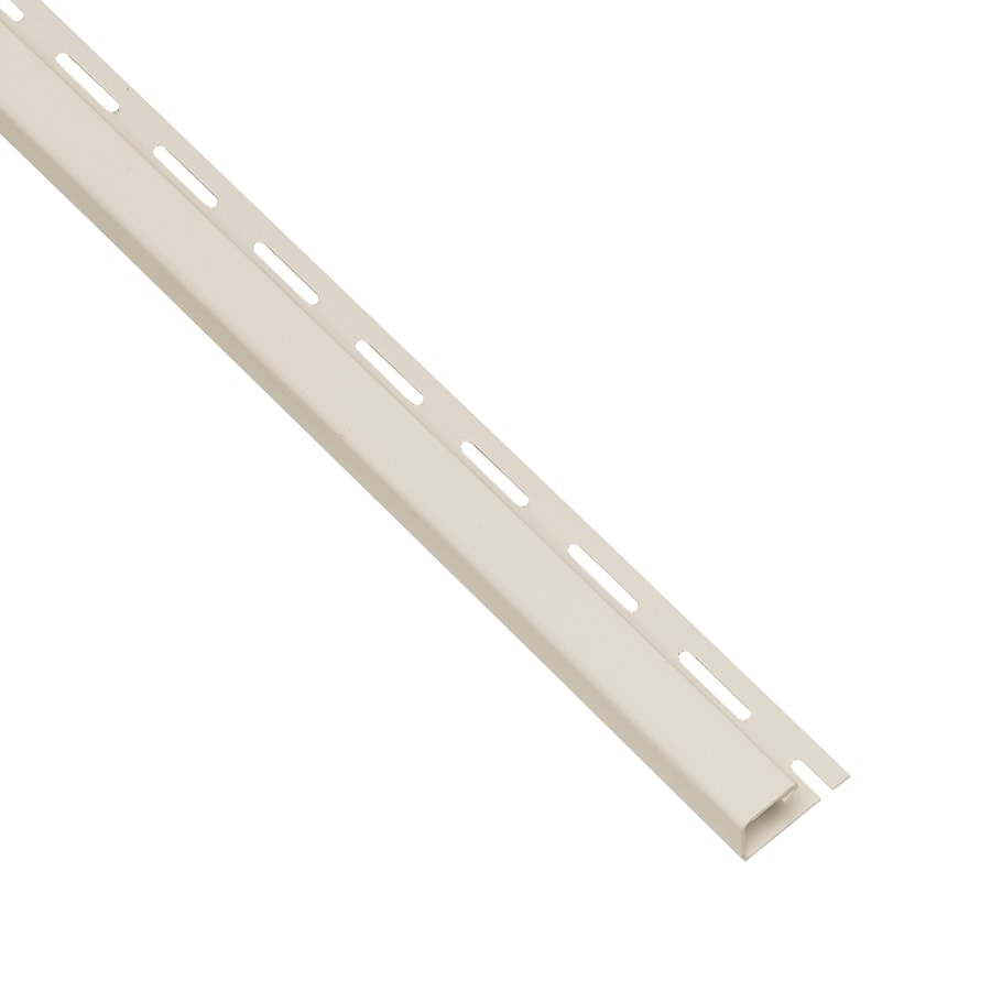 Georgia-Pacific 0.625-in x 150-in Pearl J-Channel Vinyl Siding Trim