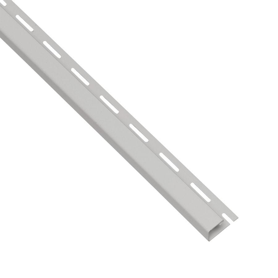 Georgia-Pacific 0.625-in x 150-in Gray J-Channel Vinyl Siding Trim