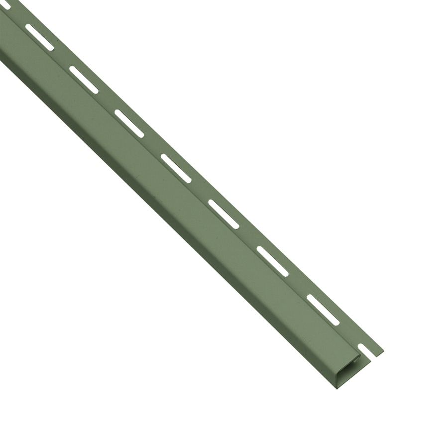 Georgia-Pacific 0.625-in x 150-in Palm J-Channel Vinyl Siding Trim