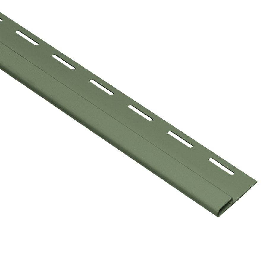 Georgia-Pacific 0.375-in x 150-in Palm Undersill Vinyl Siding Trim