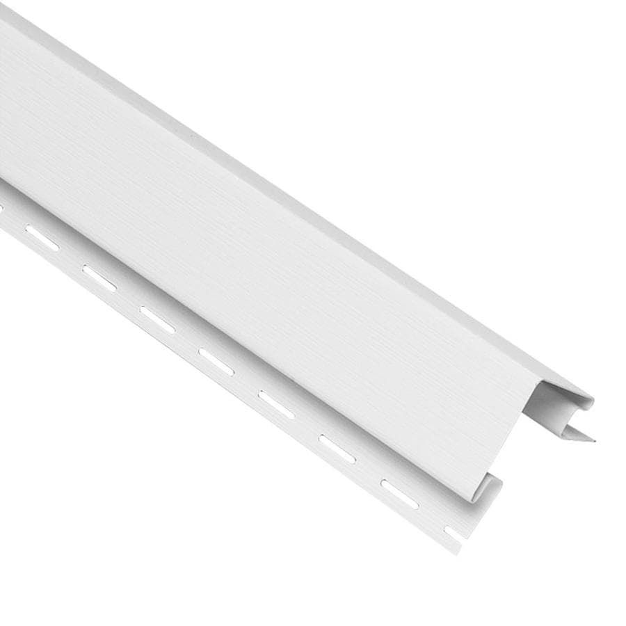Georgia-Pacific 4-in x 120-in White Outside Corner Post Vinyl Siding Trim