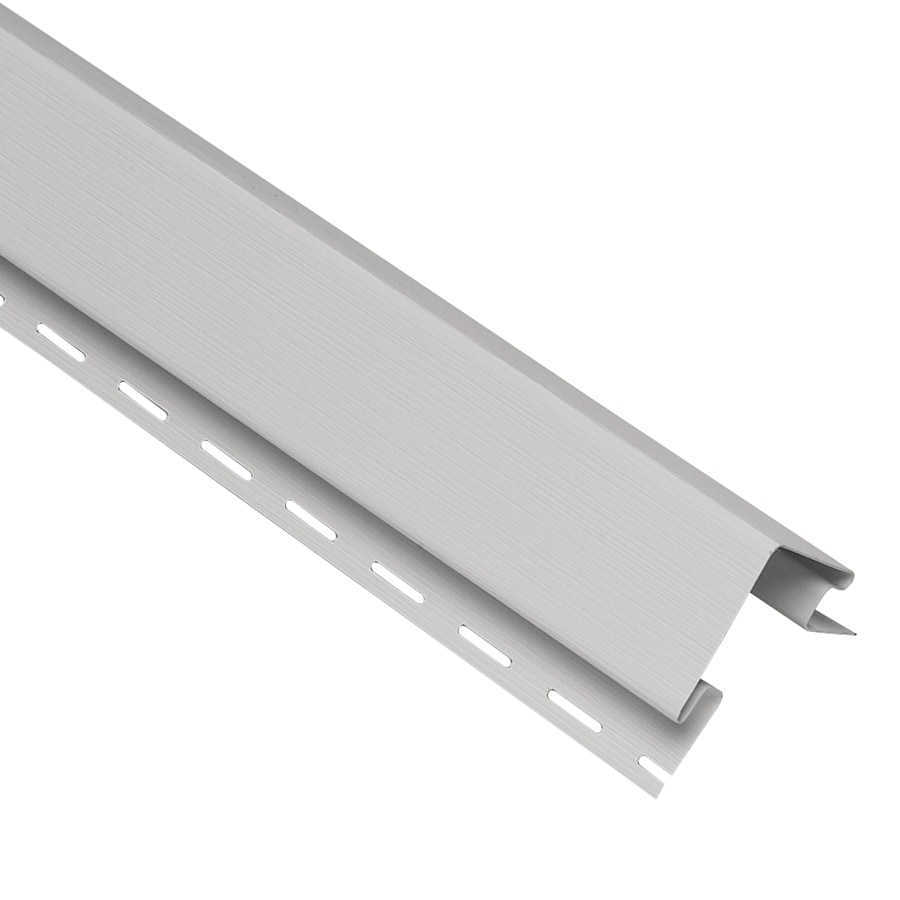 Georgia-Pacific 4-in x 120-in Gray Outside Corner Post Vinyl Siding Trim