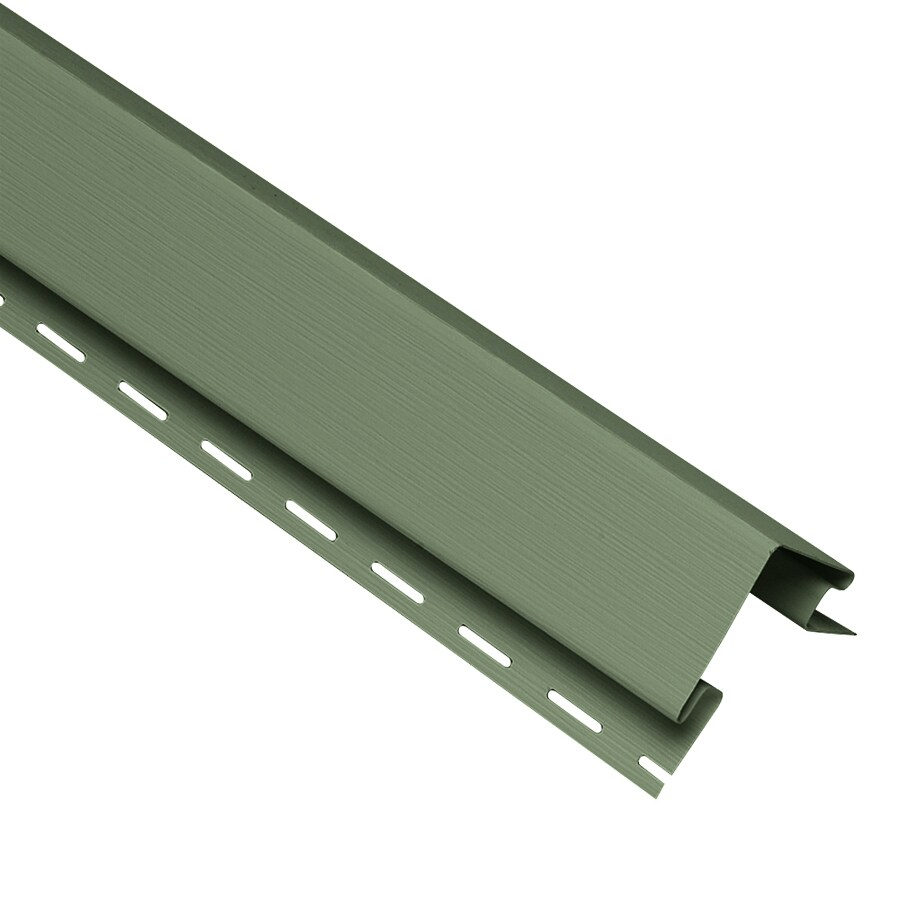 Georgia-Pacific 4-in x 120-in Palm Outside Corner Post Vinyl Siding Trim