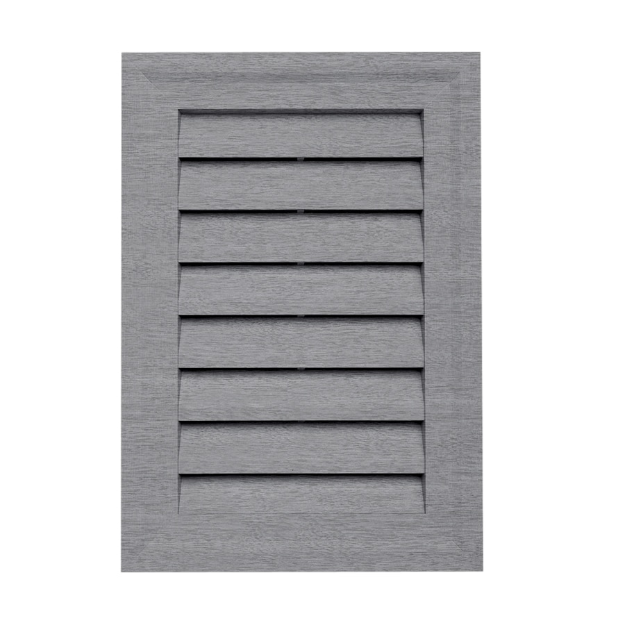 Georgia-Pacific 15-in x 10.5-in Coastal Blue Rectangle Vinyl Gable Vent