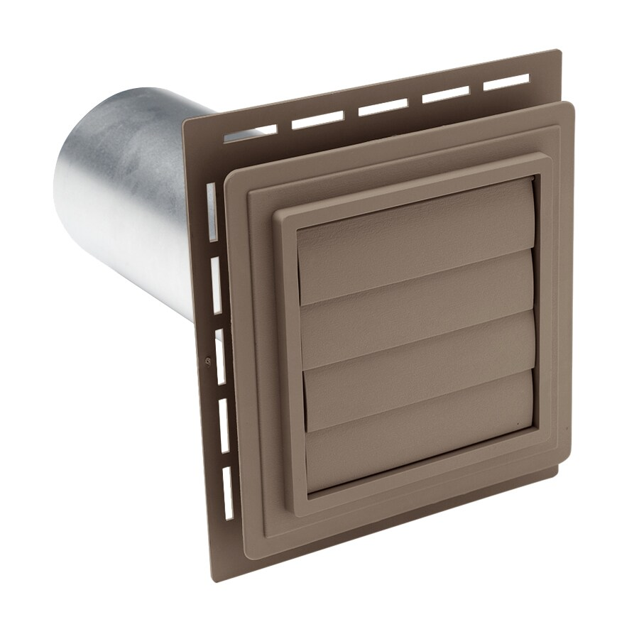 Georgia-Pacific 4-in Dia Plastic R2 Exhaust Dryer Vent Hood