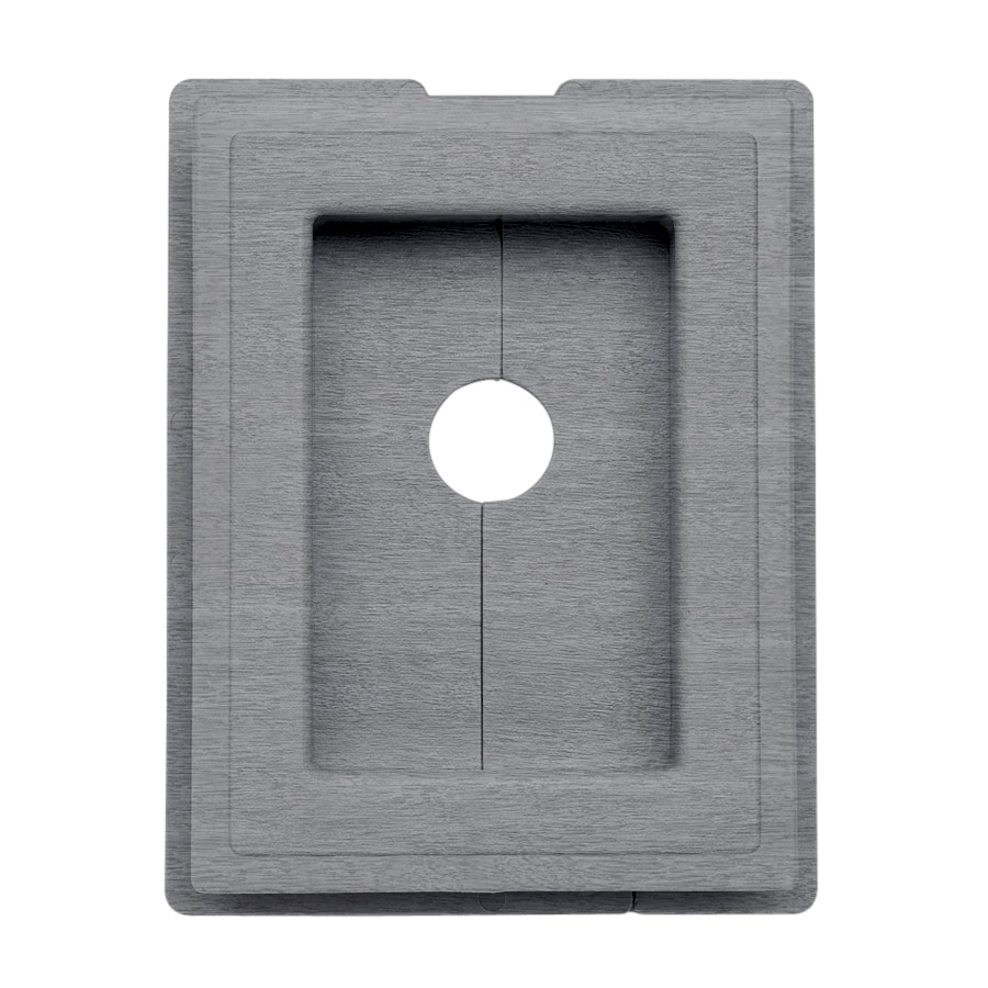 7.5-in x 1-in Coastal Blue Vinyl Universal Mounting Block