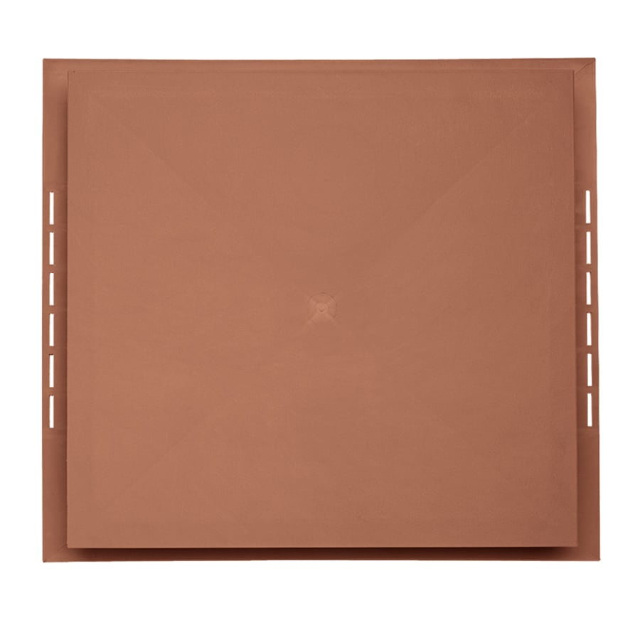Georgia-Pacific 18.5-in x 16.75-in Redwood Vinyl Universal Mounting Block