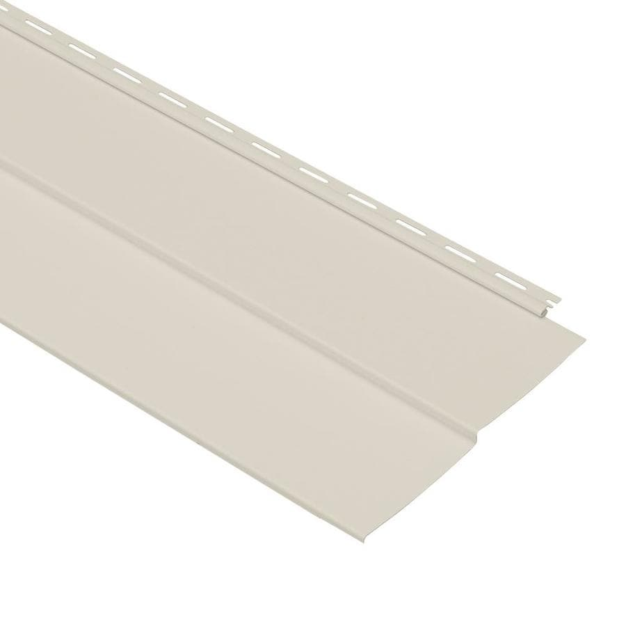 Georgia-Pacific Forest Ridge Vinyl Siding Panel Double 5 Traditional Mist 10-in x 144-in