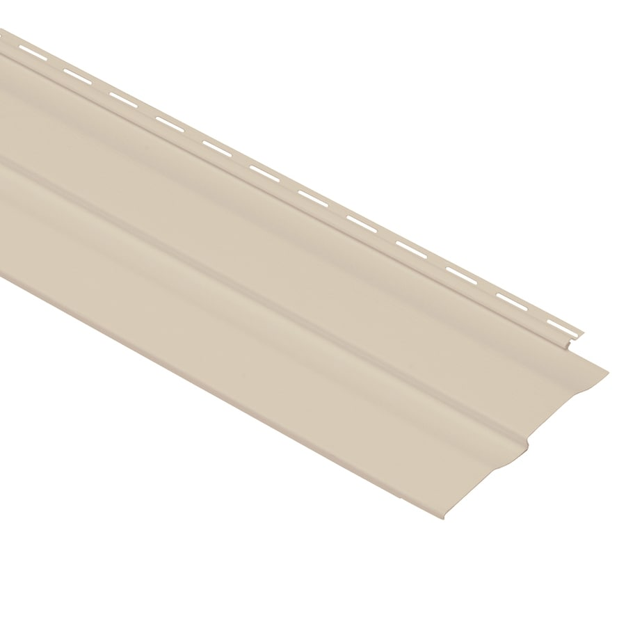 Georgia-Pacific Vision Pro Vinyl Siding Panel Double 4 Dutch Lap Beige 8-in x 150-in
