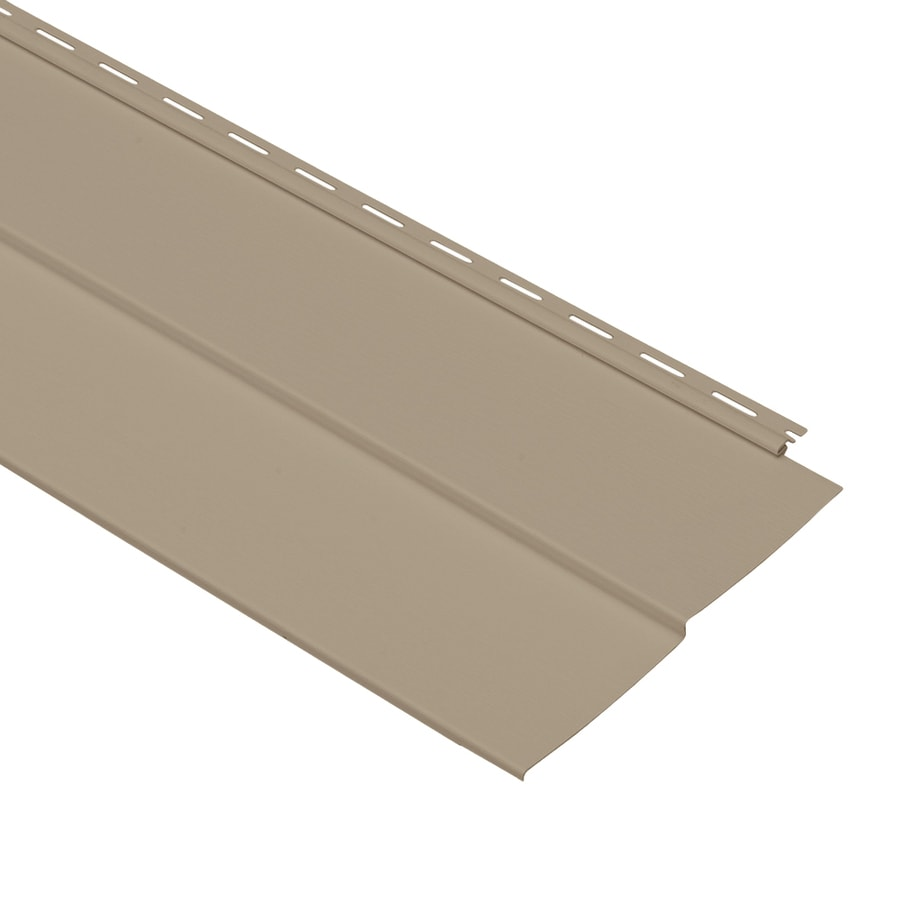 Georgia-Pacific Forest Ridge Double 5 Traditional Briar Vinyl Siding Panel 10-in x 144-in
