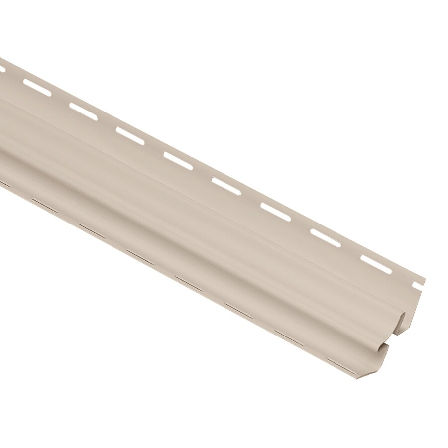 Georgia-Pacific Vinyl Siding Trim Inside Corner Post Beige/Pebble 3.75-in x 120-in