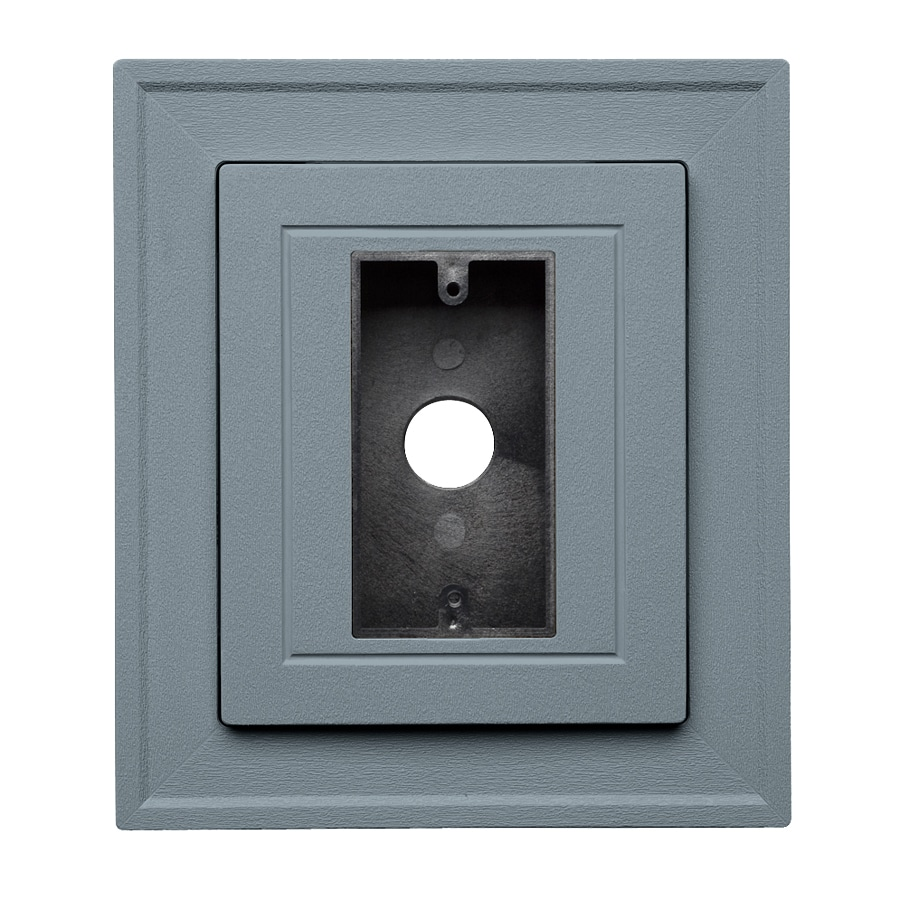 Georgia-Pacific 8.5-in x 7.5-in Wedgewood Vinyl Electrical Mounting Block