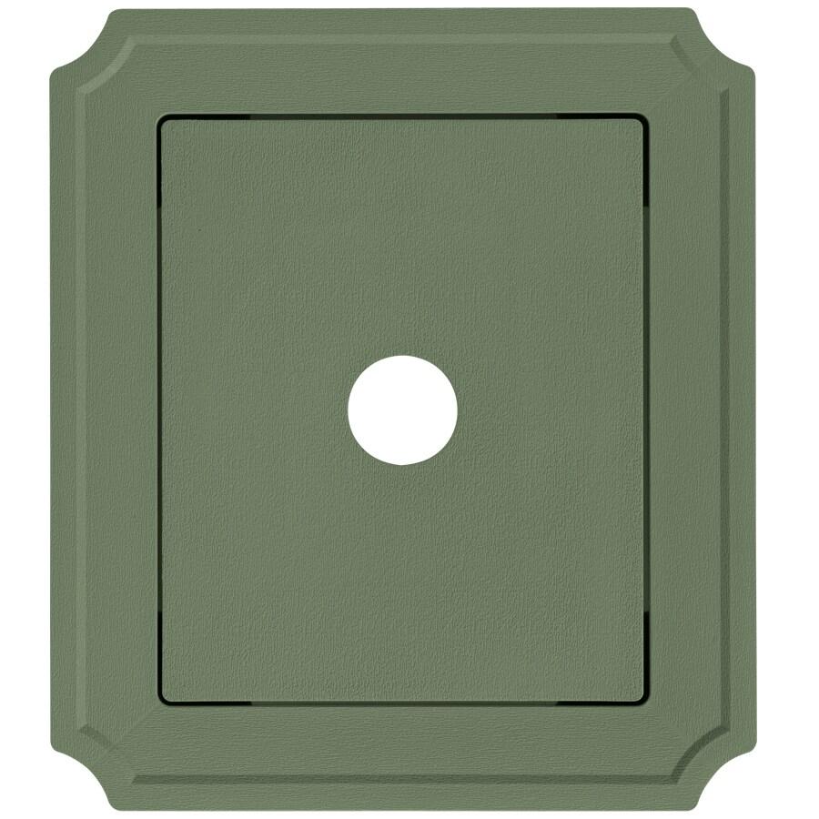 Georgia-Pacific 8.54-in x 7.52-in Palm Vinyl Universal Mounting Block