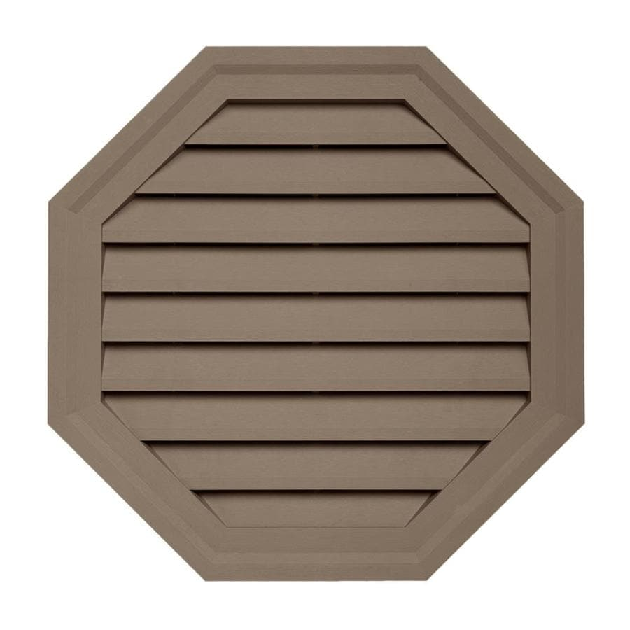 Georgia-Pacific 18-in x 18-in Teak Vinyl Universal Mounting Block