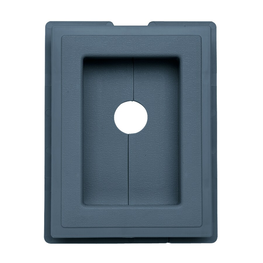 Georgia-Pacific 7.5-in x 1-in Bayou Vinyl Universal Mounting Block