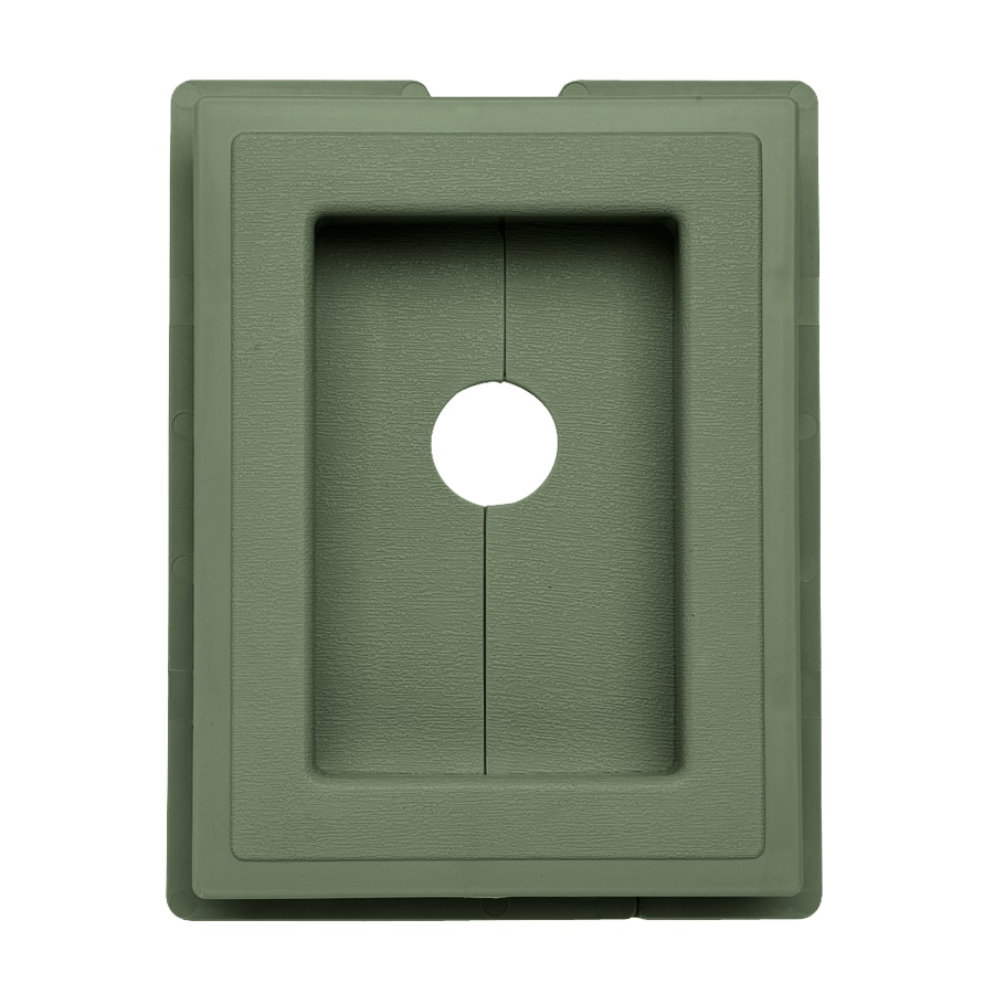 Georgia-Pacific 7.5-in x 1-in Palm Vinyl Universal Mounting Block