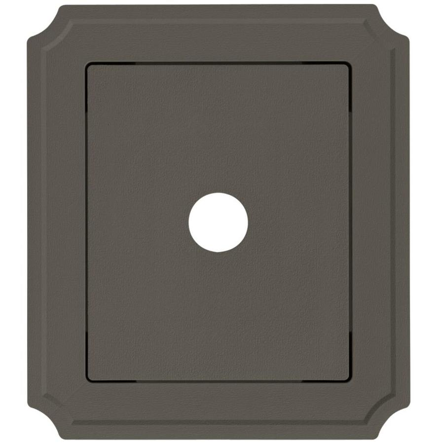 Georgia-Pacific 8.54-in x 7.52-in Shadow Vinyl Universal Mounting Block