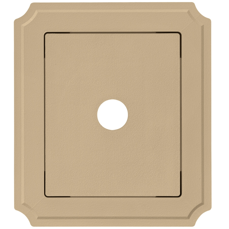 Georgia-Pacific 8.54-in x 7.52-in Amber Vinyl Universal Mounting Block