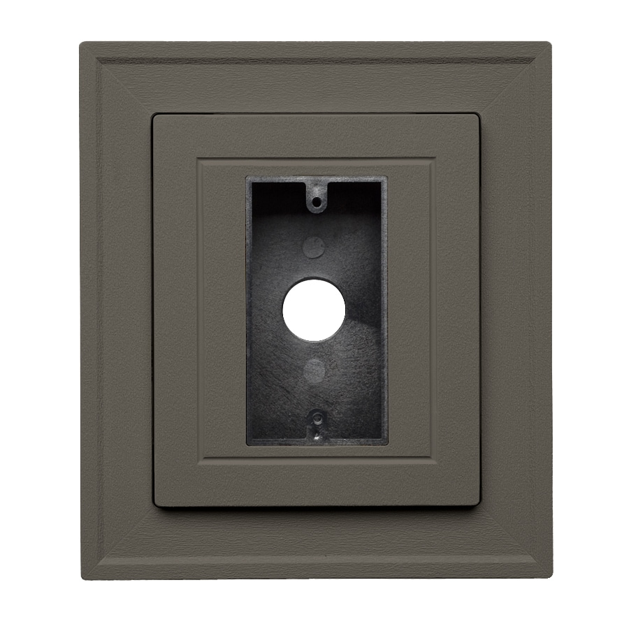 Georgia-Pacific 8.5-in x 7.5-in Shadow Vinyl Electrical Mounting Block