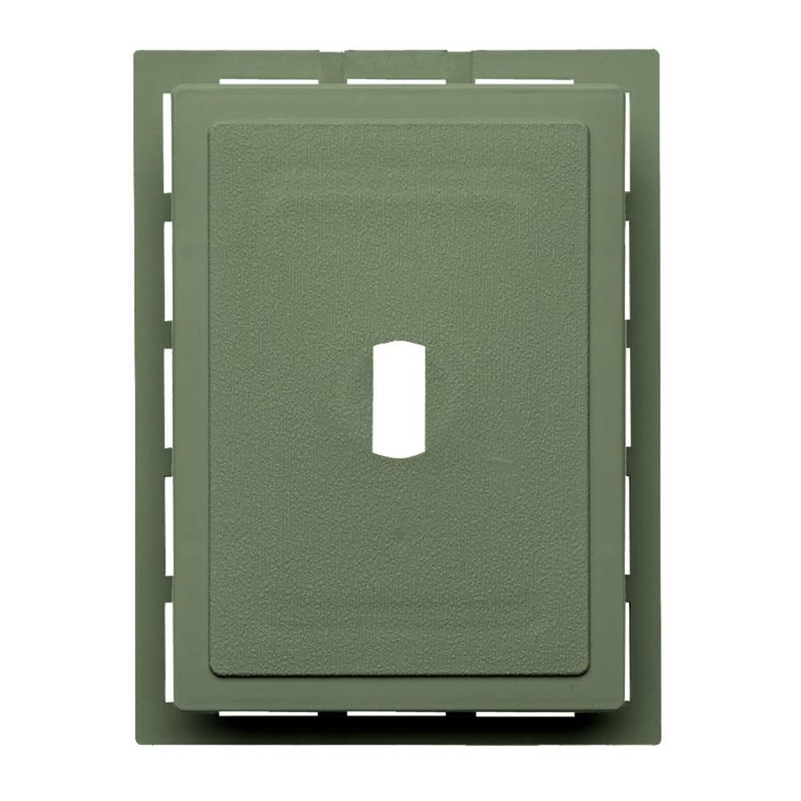 Georgia-Pacific 6-in x 0.875-in Palm Vinyl Universal Mounting Block