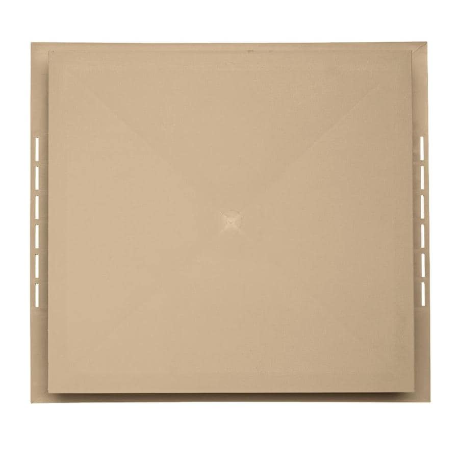 Georgia-Pacific 18.5-in x 16.75-in Hazelnut Vinyl Universal Mounting Block