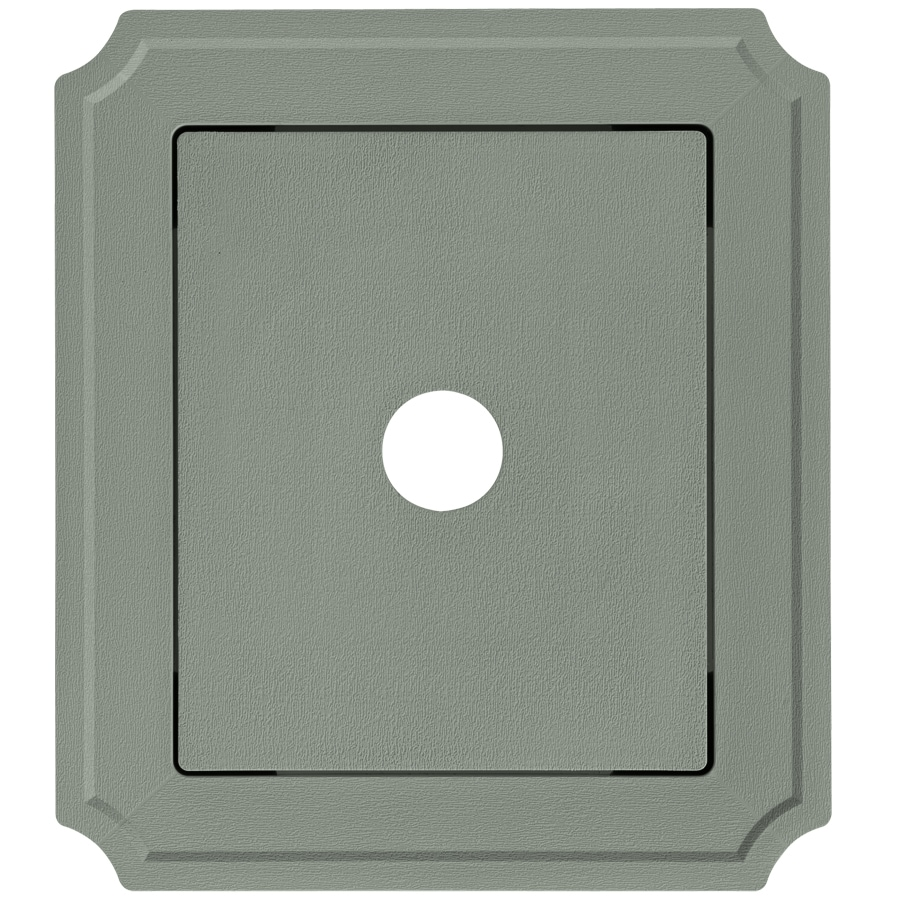 Georgia-Pacific 8.54-in x 7.52-in Sagebrook Vinyl Universal Mounting Block
