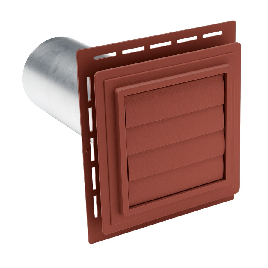 Georgia-Pacific 7-in x 7-in Hampton Red Vinyl Universal Mounting Block