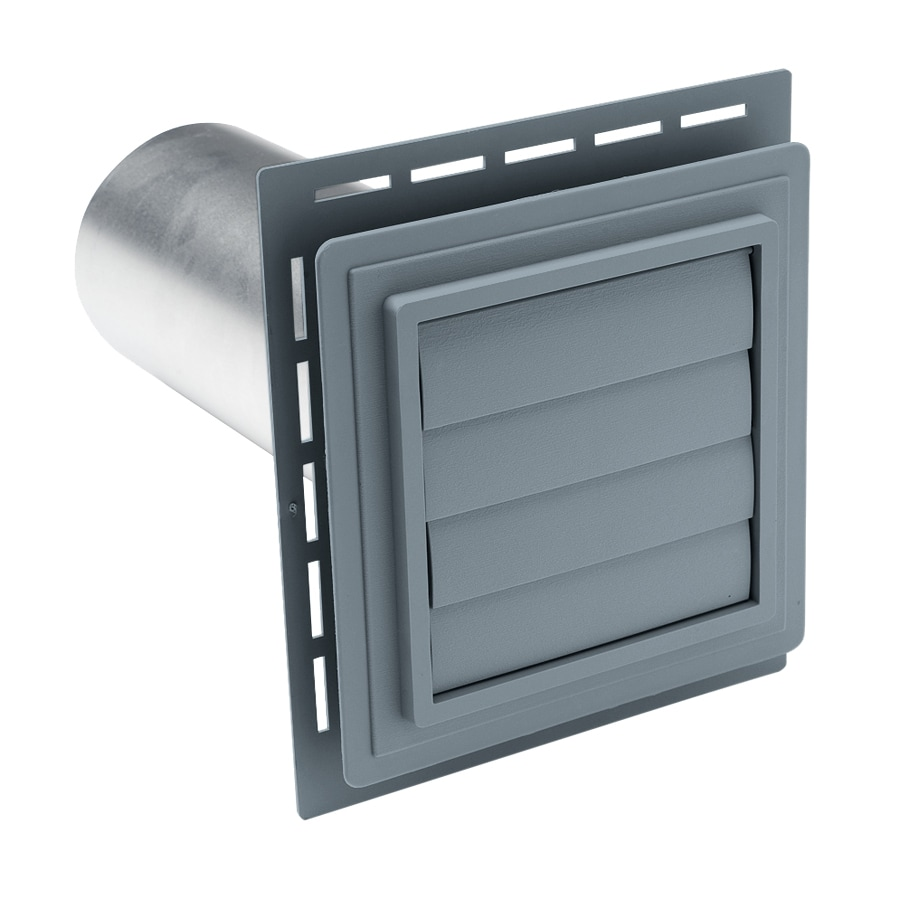 Georgia-Pacific 4-in dia Plastic Louvered Dryer Vent Hood