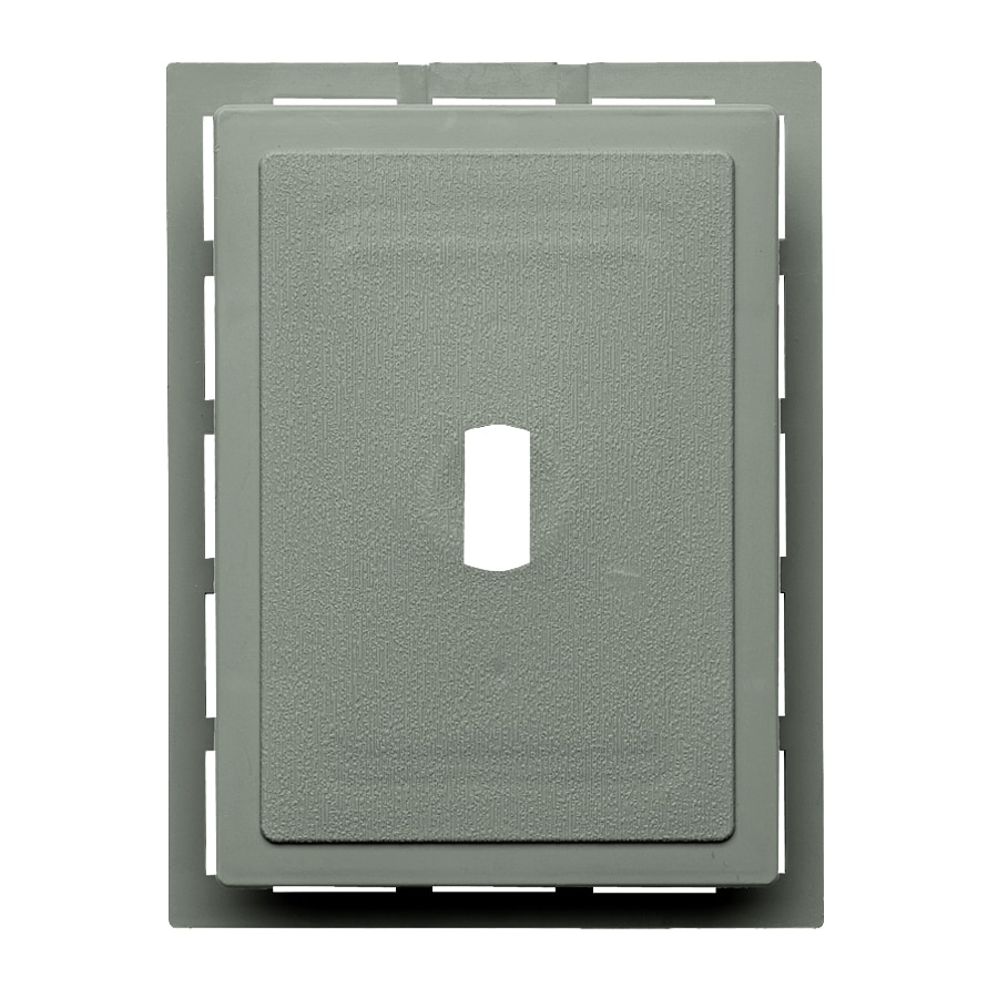 Georgia-Pacific 6-in x 0.875-in Sagebrook Vinyl Universal Mounting Block