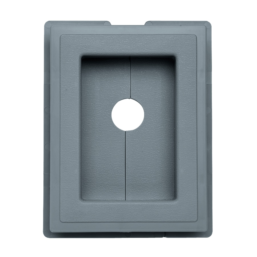 Georgia-Pacific 7.5-in x 1-in Wedgewood Vinyl Universal Mounting Block