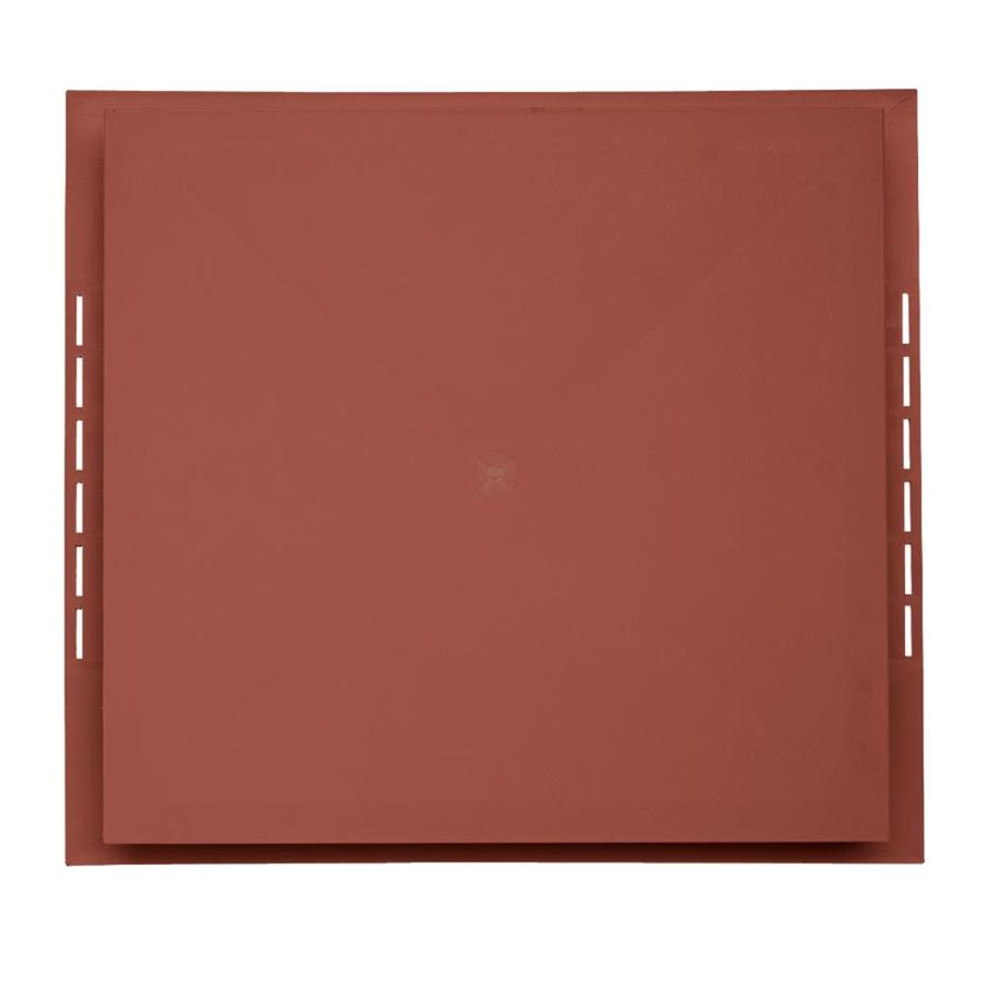 Georgia-Pacific 18.5-in x 16.75-in Hampton Red Vinyl Universal Mounting Block