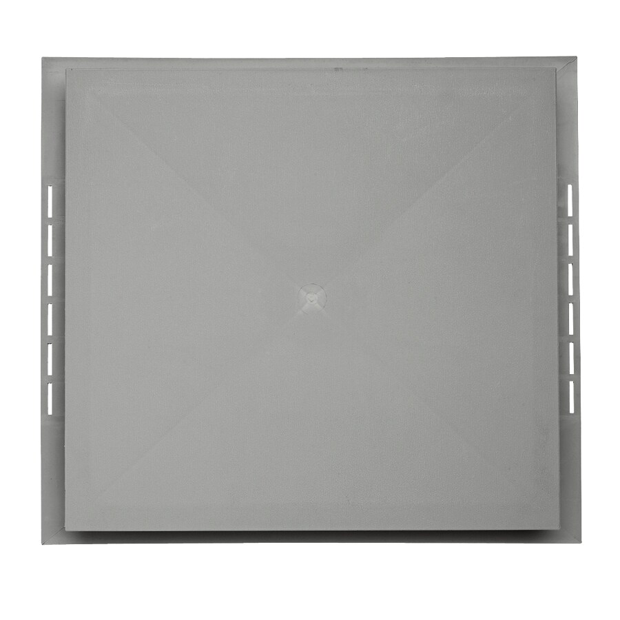 Georgia-Pacific 18.5-in x 16.75-in Pewter Vinyl Universal Mounting Block