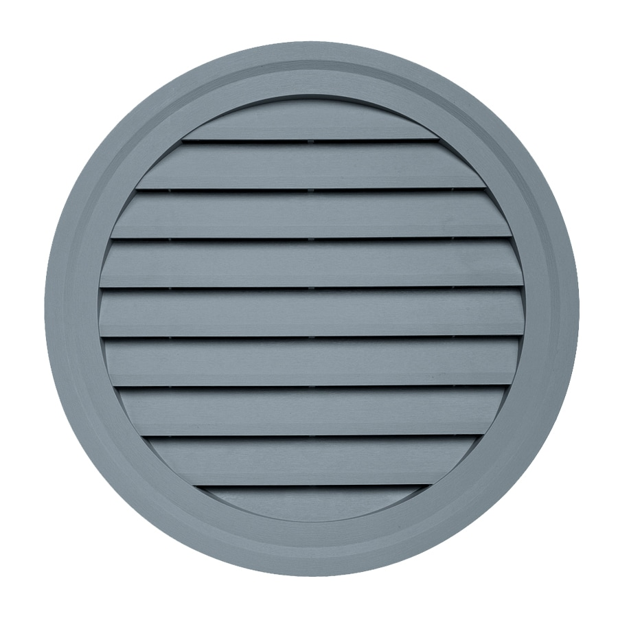 Georgia-Pacific 22-in x 22-in Wedgewood Round Vinyl Gable Vent