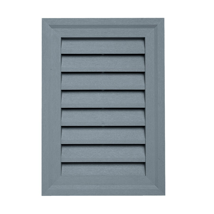 Georgia-Pacific 14-in x 20-in Wedgewood Rectangle Vinyl Gable Vent
