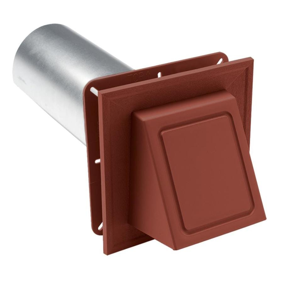 Georgia-Pacific 6.75-in x 6.75-in Hampton Red Vinyl Universal Mounting Block