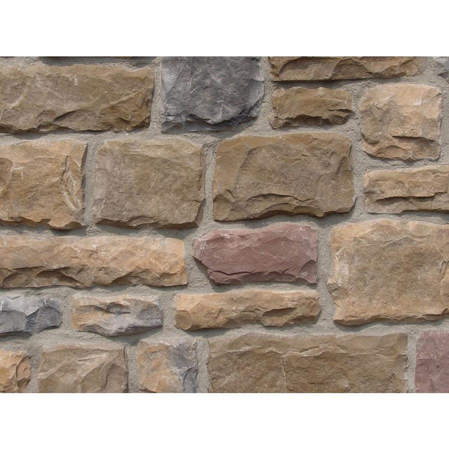 Ply Gem Stone Cut Cobblestone 10-sq ft Chardonnay Faux Stone Veneer