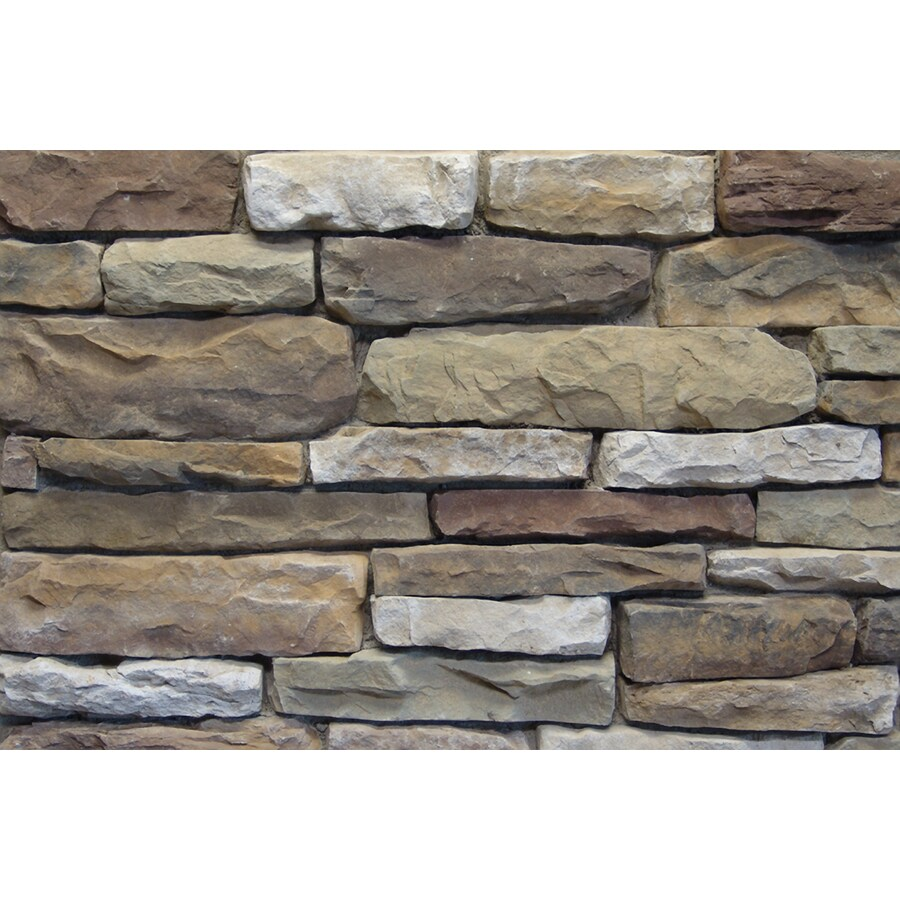Ply Gem Stone Shadow Ledgestone 10-sq ft Aberdeen Faux Stone Veneer