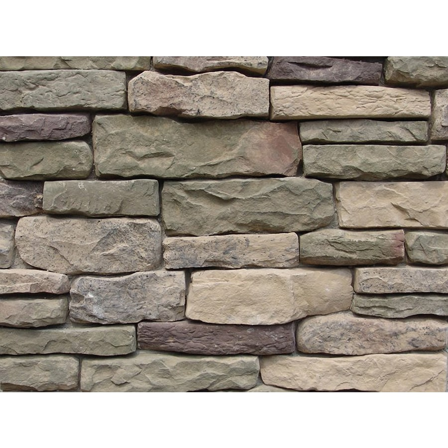 Ply Gem Stone Shadow Ledgestone 10-sq ft Easton Faux Stone Veneer